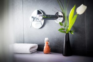 Badezimmer im LINDEMAN'S LINDEMANN HOTELS®