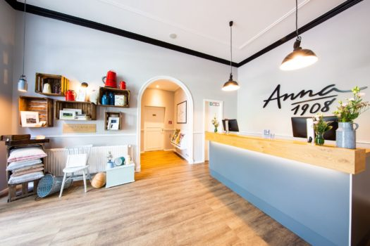 Anna 1908 Front Office LINDEMANN HOTELS®