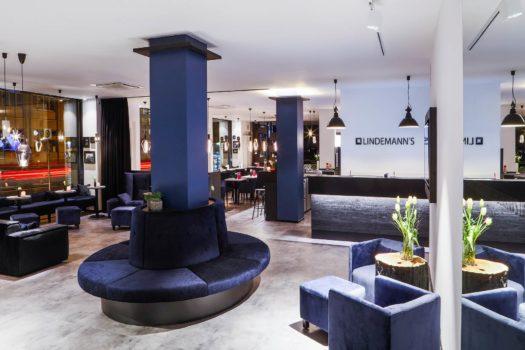 Lobby vom LINDEMANN'S bei den LINDEMANN HOTELS in Berlin