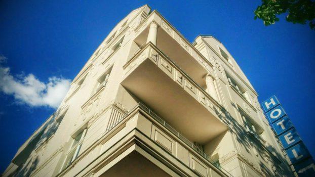 Fassade der Anna 1908 von den LINDEMANN HOTELS® in Berlin