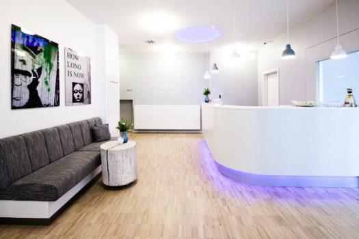 Front Office im CALMA Berlin Mitte im Jahr 2012 bei den LINDEMANN HOTELS®